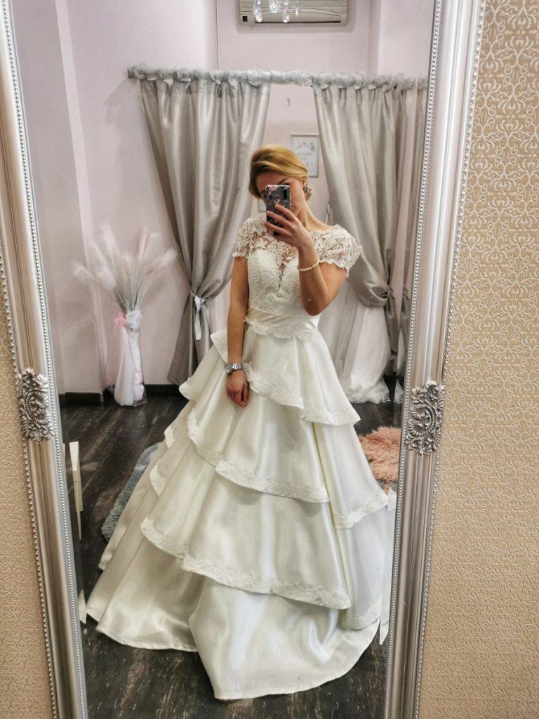 Svadobné šaty Papillon