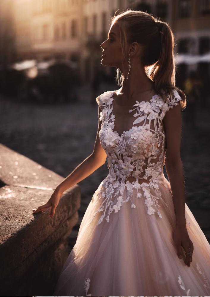 Svadobné šaty Emer