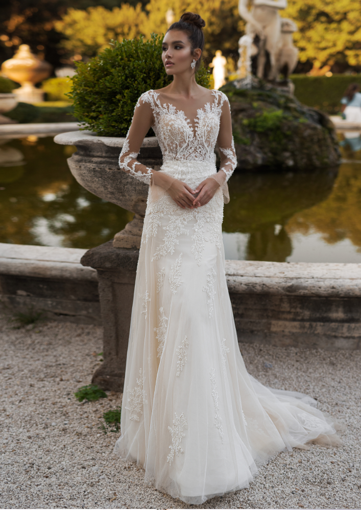 Svadobné šaty Frittilaria