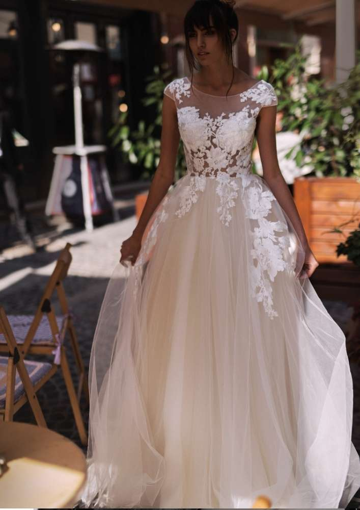 Svadobné šaty Malany